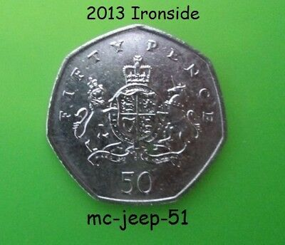 50P Christopher Ironside 2013  Circulated