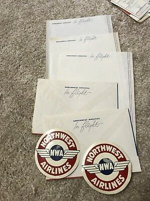 Early Northwest Airlines Paper Collectibles