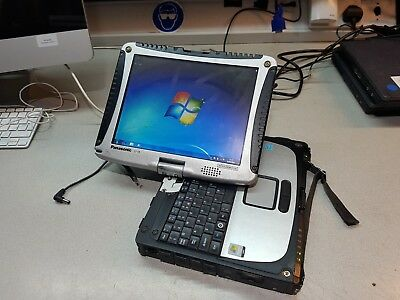 Panasonic Toughbook Cf19 Mk3 1.20Ghz 160Gb 4Gb Touchscreen Rugged Tablet Laptop