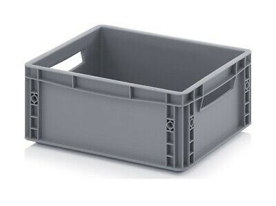 Euro Containers 40x30x17 15l Stacking Storage Box Eurobox Stackable 400x300x170