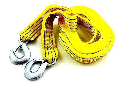 4.5m tow rope tow strap for towing cars, vans and 4x4, vehicle recovery up to 5t