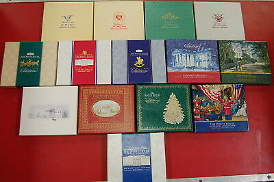 Lot of 14 The White House Historical Association Christmas Ornaments FREE SHIP!!