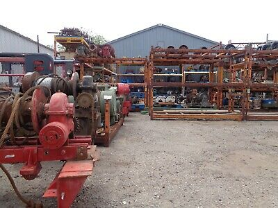 Braden Winch AMS20-18B. 45,000 lbs. Excellent Condition. S/N 0452685.