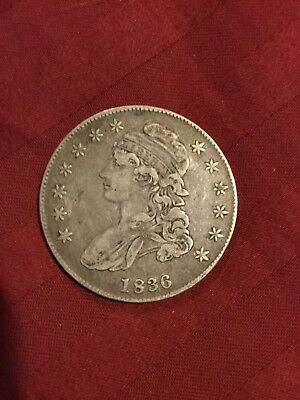 1836 Capped Bust Half Dollar - U.S. Silver Coin