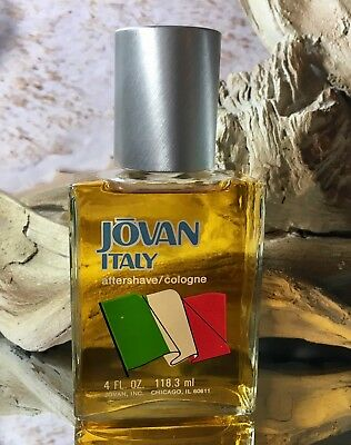 *ITALY by JOVAN*  *4 FL OZ COLOGNE/AS*EXTREMELY RARE & HARD TO FIND* *VINTAGE*