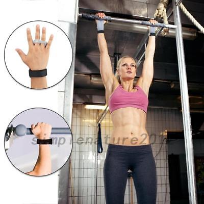 Crossfit Gym Training Leather Palm Protector Grip Pull Up Hand Guards