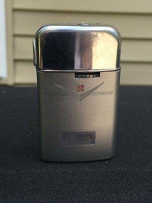 Vintage Ronson Butane Varaflame Windlite Lighter W/ Nuclear Logo Made in USA