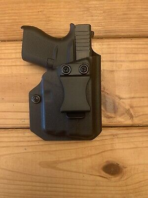 Inside Waistband (IWB) Holster For Glock 43 With TLR6 With Adjustable Clip