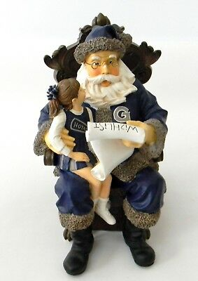 Collegiate Collectibles Wishlist Santa Georgetown University Hoyas 2nd in Series