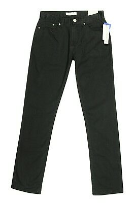 Calvin Klein Jeans New Kids Boys Skinny Stretch Dark Grey Pants Jeans 14