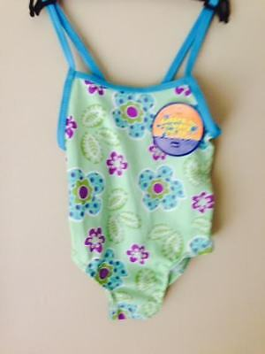 Girls Toddler Swimming Costume Size 2 FREE POSTAGE BNWT