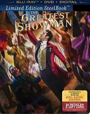 The Greatest Showman Out-of-Print Limited Edition SteelBook Blu-ray+DVD+Digital