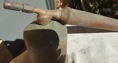 Vintage Rega Copper and Brass Fly Sprayer Collectible