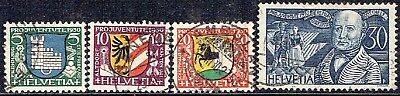 Switzerland.1930. Pro Juventute Set Used.as Is.see Scan
