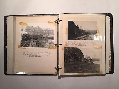 Railroad Photo Album Vintage Photo Album Railroad Photo Train Photography 100+