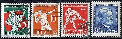 Switzerland.1932. Pro Juventute Sports.used.as Is.see Scan