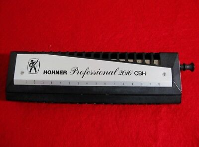 Hohner Professional 2016 Cbh Chromonica Harmonica In Great Shape - From My Dad