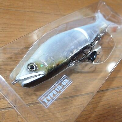 GAN CRAFT JOINTED CLAW 178 15-SS Special Colo r#19 Gachinko White