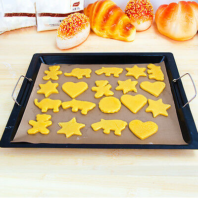 Greaseproof Food Grade Silicone Oven Bakeware Baking Pad Mat Cooking Paper Tool
