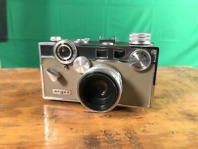 Argus C3 Colormatic Rangefinder 35mm film camera with 50mm lens Harry Potter