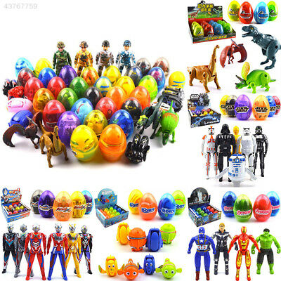 E70B Deformation Egg Toy Plastic Novelty Learning Transformers Robots Random