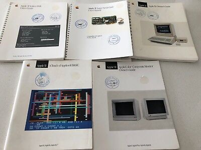 Apple IIe IIc 2 - System Manuals and Disks Bundle
