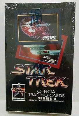STAR TREK 25TH ANNIVERSARY SERIES II TRADING CARDS - 1991 Impel sealed box