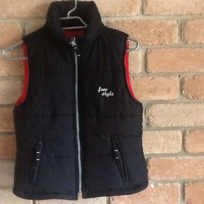 Pumpkin Patch Boys Padded Vest, Size 11, In  Very Good Condition.