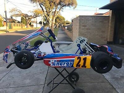 Racing Go Kart Otk Tony Kosmic Arrow Energy Intrepid Kart