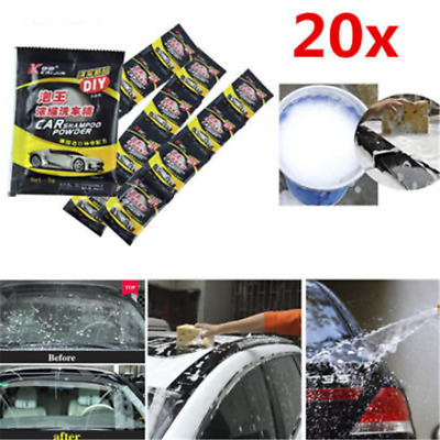 10/20PCS Effervescent Concentrate Powder Car Window Windshield Wash Cleaner New