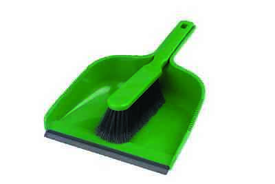 2 X Handheld Plastic Dustpan Dust Pan And & with Brush Set Dust Pan Home