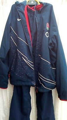 England rugby training/track suit. Size large