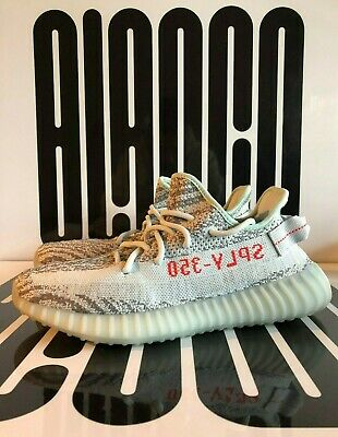 eed04d543ff Adidas Yeezy Boost 350 V2 Blue Tint US 6.5 - 13.5 B37571 Grey Red SPLY Kanye