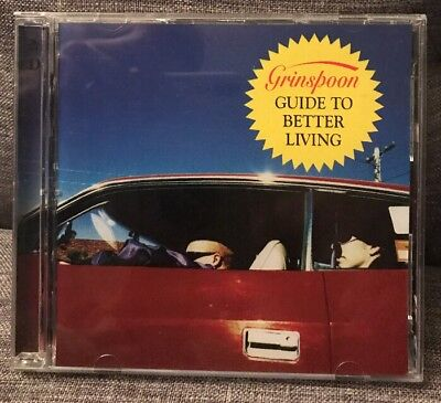 GRINSPOON Guide To Better Living 2CD VGC Discs Mint FAST FREE Aus POST
