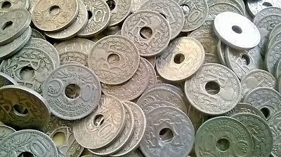 Lot De 50 Pieces De 10 Centimes Cts Lindauer Pieces A Trou France