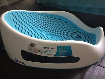 Excellent Condition Angelcare Baby Bath Support Seat. Blue