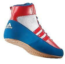 Hvc Wrestling/boxing Boot. Blue/red/white - Size 12H
