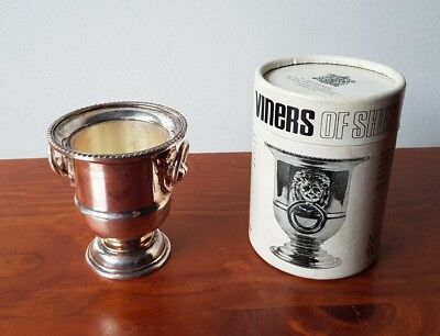 Viners Of Sheffield Miniature Wine Cooler Silverplated England 1970 Silverware