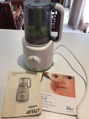 Philip Avent Combined Baby Food Steamer Blender