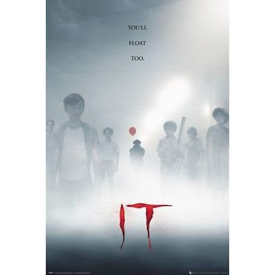 IT - Key Art - Pennywise Movie Poster #1E
