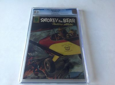 Four Color 1214 Cgc 9.2 Only 2 Copies Graded Higher Smokey The Bear Plane Dell