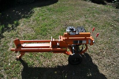 12 Ton Log splitter with petrol engine