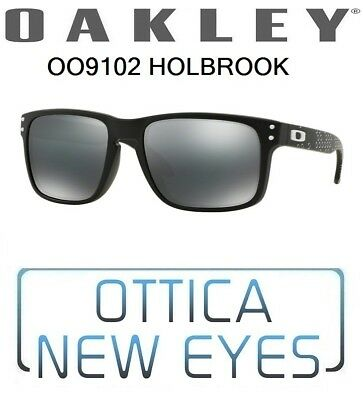 4990d25772 Occhiali da Sole OAKLEY HOLBROOK OO9102 910281 sunglasses black iridium new