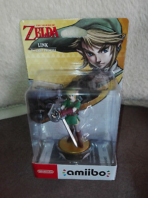 Nintendo Amiibo Link - Twilight Princess The legend of Zelda neu und OVP