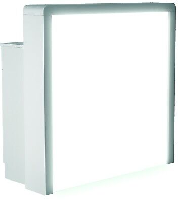Reception Salon Desk Shop Exhibition Stand Counter Hairdresser Beauty LED