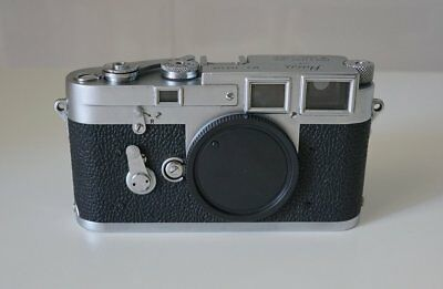 Leica M3 1954 #706420 in very good condition DS double stroke first batch