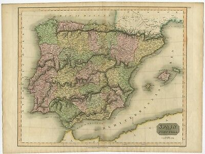Spain and Portugal - Thomson (1815)