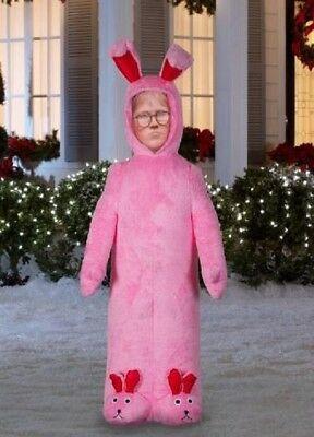 6 Ft RALPHIE IN BUNNY SUIT FROM CHRISTMAS STORY Airblown Inflatable