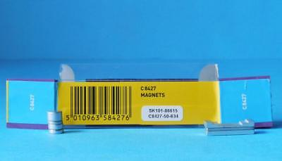7 x SCALEXTRIC MAGNETS C8427 for SCALEXTRIC CARS MAGNATRACTION