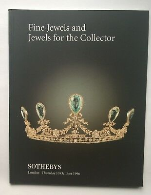 Sotheby's Fine Jewels and Jewels for the Collector Auction London 10 Oct. 1996
